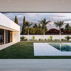 C A S A B L A N C A | Ultra Modern Villa in Madrid/Spain Rendered by A H M E T Abdurrahman