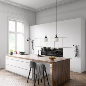 | SCANDINAVIAN KITCHEN | White mood