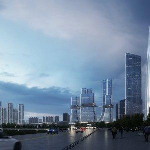 【Lumion Animation】Aedas-广州市西塱综合交通枢纽及周边综合开发方案国际竞赛